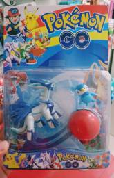 Cartela de Bonecos Pokémon Dialga mais Pokebola