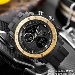Relógio masculino importado original Sanda de qualidade incrível