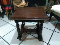 Mesa de madeira antiga tamanho 45 cm²