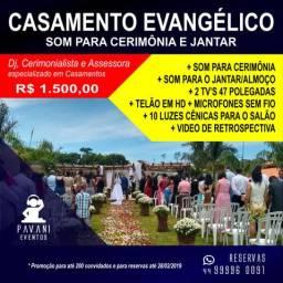 Som para casamento evangélico