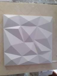 Fabrico placas de gesso 3D 29×29 e 28×28.  Valor  inidade 3 reais