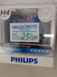 Lâmpada philips Diamond Vision h4 nova instalado no seu carro