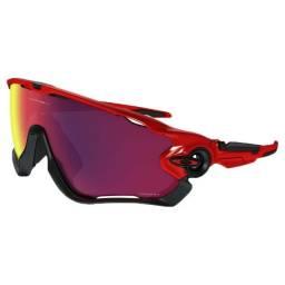 Oakley Jawbreaker Vermelho e preto