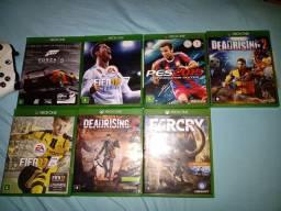 Vendo jogos Xbox one 15 cada todos juntos por 100