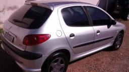 Peugeot  1.4 206 completo recibo em branco
