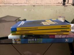 Doação de livros e dvds