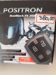 Alarme Positron duoblock fx 350 novo com garantia instalado em seu carro