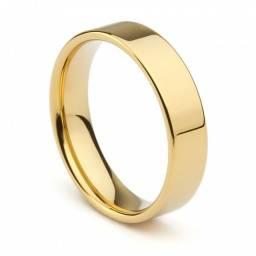 Oferta Imperdivel alianças folhadas a ouro 18k