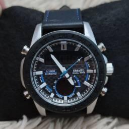 Relógio masculino importado original Smael de ótima qualidade