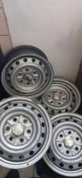 Rodas de ferro aro 16