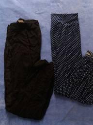 Saias shorts e calças