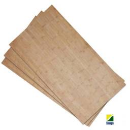 Chapas de bambu natural 5mm