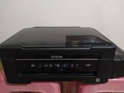 Epson L375 + impressora HP sem cartucho