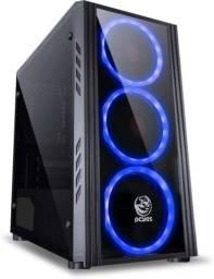 Computador Gamer 7000 - I7-6700 3.4ghz 8GB ddr4 ssd 240GB gtx 1050TI 4GB Fonte 600W, skul