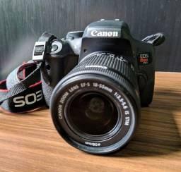 Câmera Canon EOS T6i + Lente 18-55