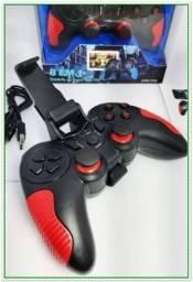 Controle Gamepad Sem Fio 8 Em 1 Pc E Smartphone Inova 7246