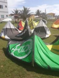 Aulas de kitesurf
