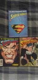 Coleção O Retorno Do Super-Homem - Editora Abril