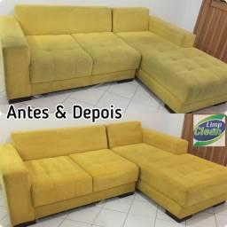Limpeza sofá (LAVAGEM A SECO PORTO VELHO)