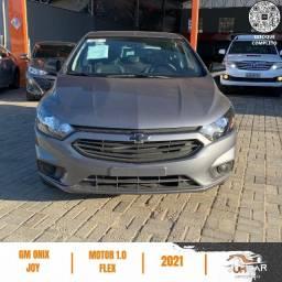 Chevrolet Onix Joy - 1.0 Flex - 2021 - Cinza - Black Edition