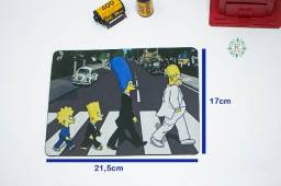 Mousepad The Simpsons The Beatles Personalizado