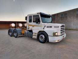 Scania 112 hs trucado tudo mecânica do 113 caixa 8 marcha