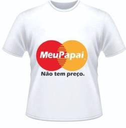 Camisa Personalizada Dia dos Pais - Camisa Estampada