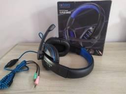 Heeadset Gamer Praaaa Pc Exbom HF-G230