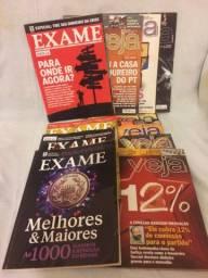 Revistas Antigas : VEJA e EXAME
