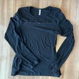Blusa de frio preta