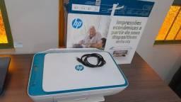 Impressora Multifuncional 3 em 1 HP Wi-Fi