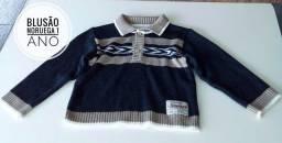Blusa de lã menino Tam 1