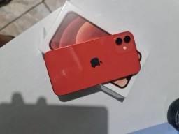iPhone 12 RED 128 GB Completo com Nota fiscal e Garantia