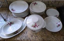 Jogo de Jantar porcelana Renner - anos 60