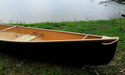 """Canoa Canadense modelo Prospector 17"""" Caiaque Canoa Barco"""