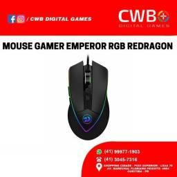 Mouse Gamer Redragon Emperor Chroma RGB, um ano de garntia com NF, Loja Fisica