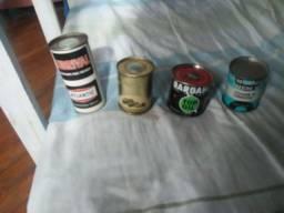 Lubrificantes Antigos latas Raridades