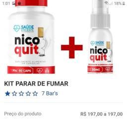 Kit parar de fumar apenas R$ 197