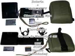 Venda + Câmera + Ft. + 5 + Acessórios + Sony + lote