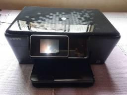 Impressora Multifuncional HP Photosmart B210a plus (Imprimi direto do celular)