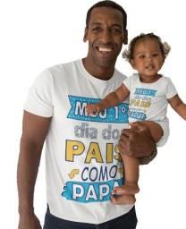 Kit de Camisa Personalizada + Bory Infantil
