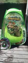 Tenda  dinossauros dobrável -medidas- 0.72 x 0.70 x 0.92 cm.