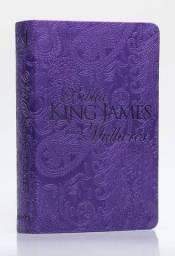 Bíblia Feminina De Estudo King James Para Mulheres-roxa