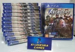 Avengers Jogo PS4
