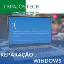 Reparo e Reinstalação do Windows