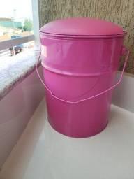 Banco rosa