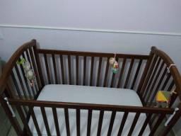 Berço / cama (Americano) madeira maciça