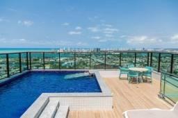 Título do anúncio: BCIL - Apartamento tipo flat para alugar, 1 quarto, Mobiliado, lazer, na Ilha do Leite