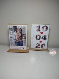 Polaroids de mesa personalizados