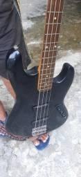 BAIXO e guitarra da giannini